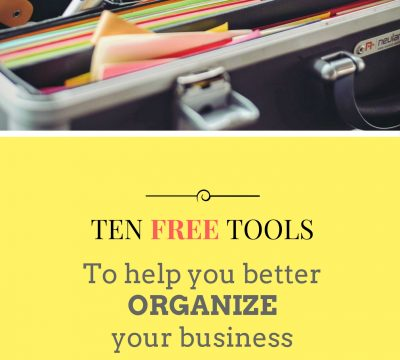 For entrepreneurs, business owners and anyone trying to organize their life